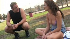 Lustful soccer mom seduces a guy and has him providing the pleasure she desires