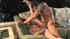 A horny young couple of newlyweds make passionate love together