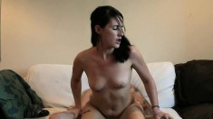 Kori Lynn bends over and gets nailed from behind with a hot rod
