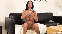 Healthy Ava Addams has cracking knockers you'll want to see jiggle
