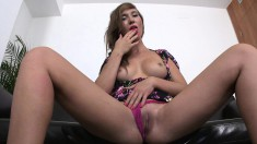 Cristal Cherry and her fine body do all the things he wants so he cums