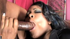 Slutty Jenna Brooks gets into a threesome and get all her holes nailed
