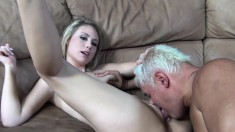 Brynn Jay And Charlee Monroe Working Their Sweet Lips On Long Sticks