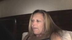 Nasty Blonde Hooker Krystal Putting Her Mouth To Work On A Long Shaft