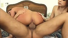 Simone Riley and Phoebe make their threesome fun with Andrew Andretti