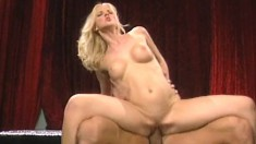 Hannah Harper gets her peach eaten out and drilled by a muscled stud