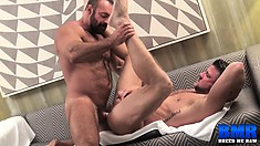 Brad Kalvo and Christian Matthews surrender their cocks to one another