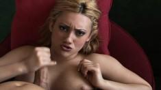 Gwen Diamond can't wait to work her lover's throbbing cum gun