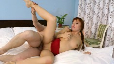 Exotic redhead Lexy Star gets the exciting anal training she desires