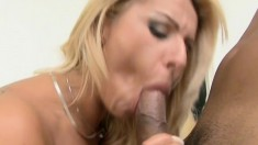 Big tit Pamela Butt gets all holes pumped and watches in a mirror