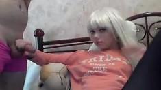 sexy amateur hot blonde teen show webcam