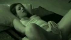 Hot amateur real masturbation at home