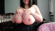 amateur moonchristine flashing boobs on live webcam