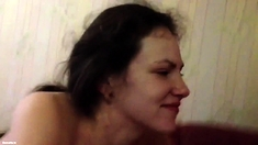 POV blowjob with facial cumshot