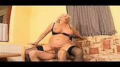 Her cunt was more than eager to feel the pain from a big cock