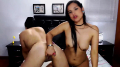 Two Hot And Daring Lesbians Gets Sinful On Cam