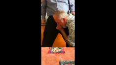 Grandpa Giving a Good BlowJob 1