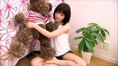 Delicate Japanese teen pounded hardcore in her wet slit