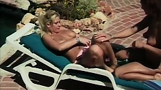 Betty Sue Lindon gets naughty with lovely starlet Tina Johnson