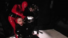 Submissive slut takes some humiliating treatment from her mistress